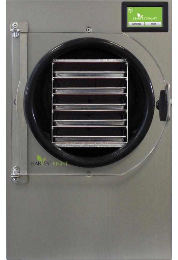 Large freeze dryer front